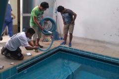 Ultimi lavori di idraulica
