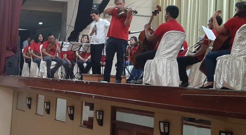 L'orchestra sinfonica di Cusco